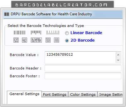 Barcode Label Creator Healthcare