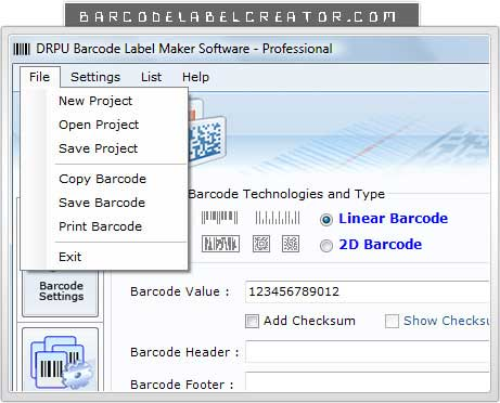 Windows 7 Download Barcode Label Creator 7.3.0.1 full