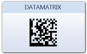 DataMatrix 2D Barcode label creator Data-Matrix bar code