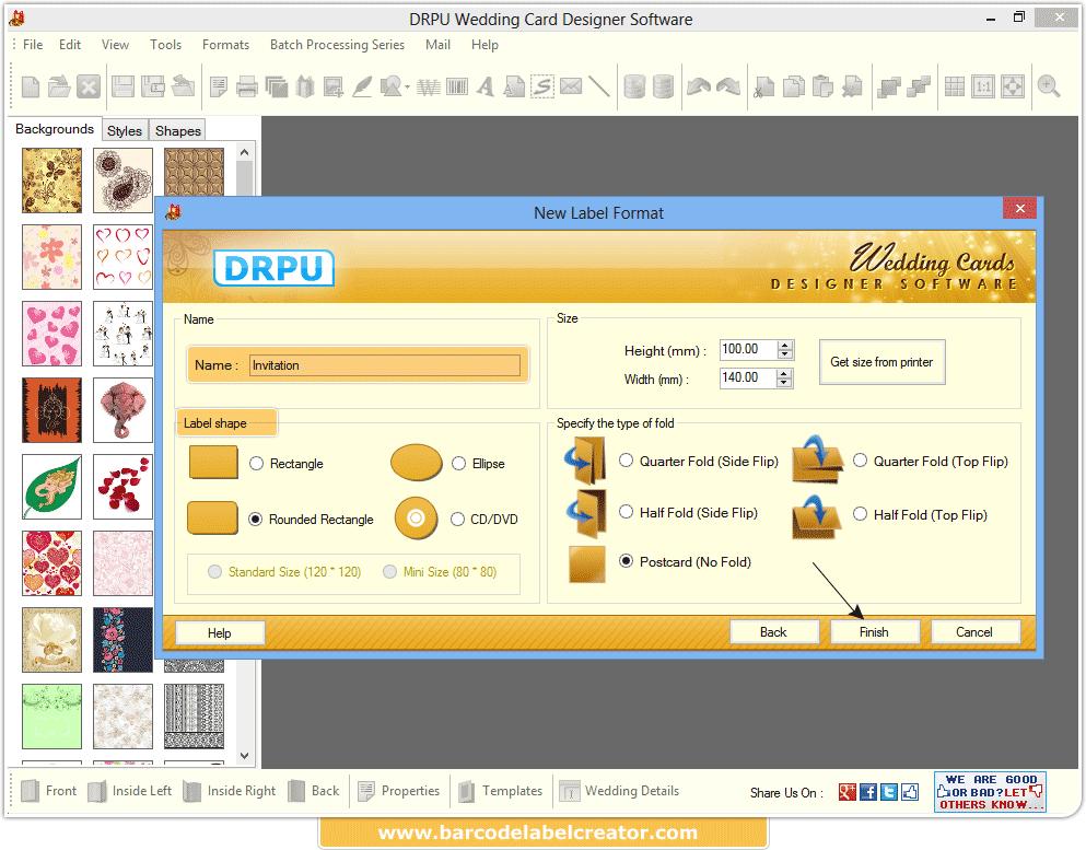 Wedding Card Maker Software Screenshots Corporate Cards Designer Program